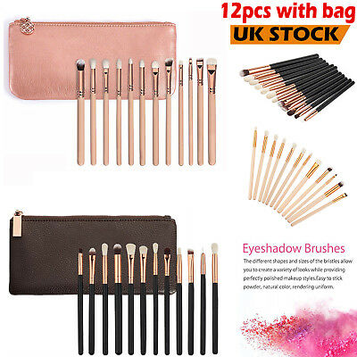 12PCS Make up Brushes Set Foundation Powder Eyeshadow Makeup brush Cosmetic Gift