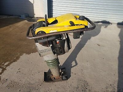 "Wacker Neuson Trench Rammer Bs502 2010 Year 6"" Jumping Jack Compactor Plate"
