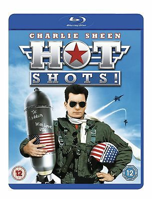Hot Shots! Charlie Sheen Blu-Ray BRAND NEW Free Ship USA Compatible