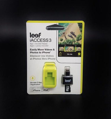 Leef iAccess 3 iOS microSD Card Reader for iPhone and iPad - NEW!