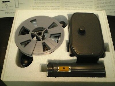 Rare Vintage 8 Mm Film Viewer Hand Held  Battery Operated