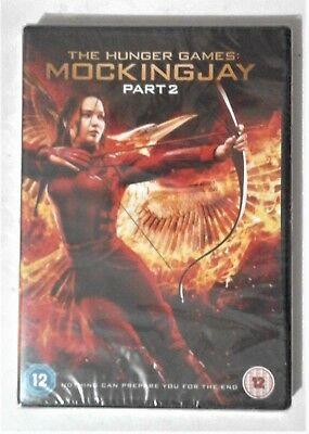 The HUNGER GAMES : MOCKINGJAY PART 2 DVD NEW and SEALED