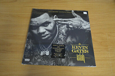 ISLAH 2XLP+CD BY Kevin Gates vinyl sealed unopened brand new