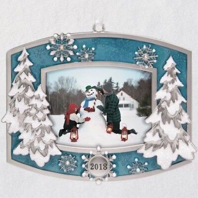 "2018 Hallmark ""A Beautiful Year"" Keepsake Ornament! New In Box!"