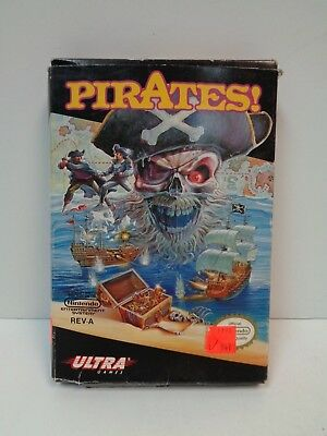 Video Game - Nintendo NES - PIRATES! - Pre-Owned