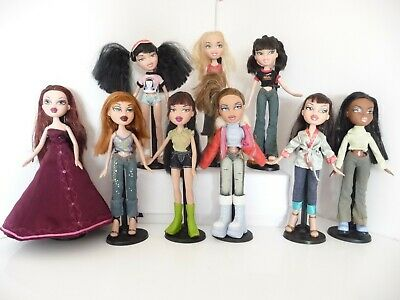 BRATZ DOLLS MGA 2001 - 2004 DRESSED + SHOES HAIR IN VGC YOU CHOOSE 1 OR MANY no1