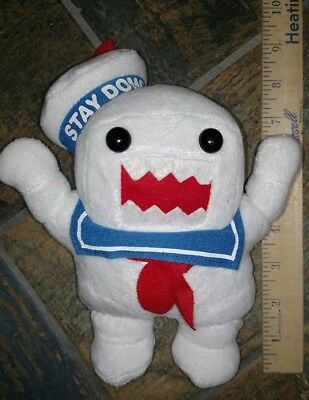 Ghostbusters Plush Marshmallow Man Stay Puft Domo Sailor Ghost Stuffed Toy