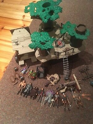 Robin Hood Toys Job Lot Playset Vintage Used Grey Condition Massive Job Lot
