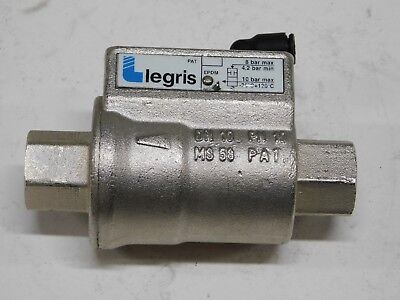 "Legris EPDM Piloted Double acting 3/8"" axial valve"