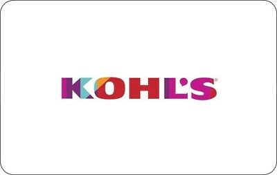 New $100 Kohl's Gift Card, free shipping