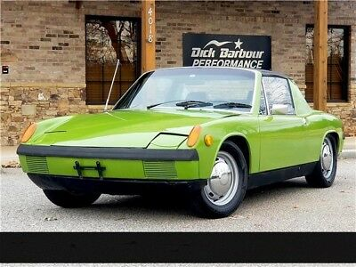 1971 914 -- 1971 Porsche 914 ONLY 27,535 documented miles! 45 year ownership under 1st owner
