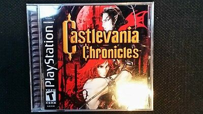 Reproduction Castlevania Chronicles (PS1) Manual, Insert and New Jewel Case