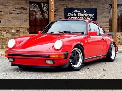 1987 911 Carrera G50 1987 Porsche 911 Carrera G50 Guards Red