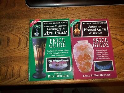 Antique Trader The American Art glass & Pressed Glass price guides Editor signed