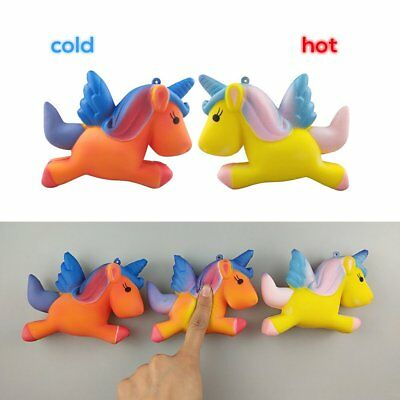 Temperature Colour Change Slow Rising Scented Squeeze Toy Stress Reliever EA