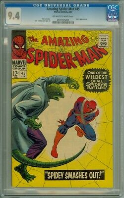 Amazing Spider-Man #45 - CGC Graded 9.4