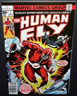 The Human Fly #1 1977 9.2-CGC it O/1st app Human Fly; Spidey app BV$22 30%Off