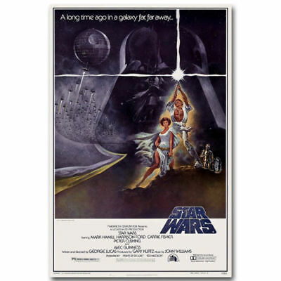 Star Wars Classic Movie Art Silk Poster 12x18 inches