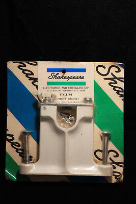 """Shakespeare Style 95 Standoff Bracket for 1"""" Dia. Antennas, Brand New, Hdwr Incl"""