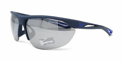 59b6d8f36f21 NIKE Sunglasses TAILWIND SWIFT EV0916 440 Obsidian Blue Rectangle 70x11x140