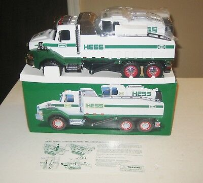 2017 Hess Dump Truck and Loader Toy Brand New Unused