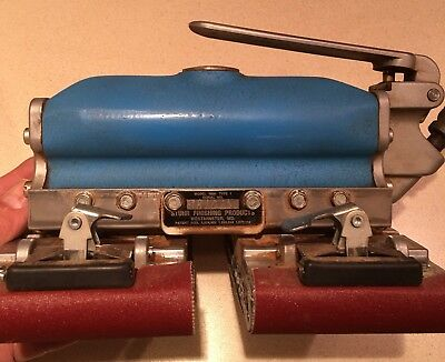 Stuhr Double Pad Sander Model 1000 Very Fine  Used Working Condition