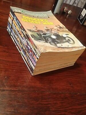 Commando comics job lot of 21 , £1.10 issues complete run ( D )