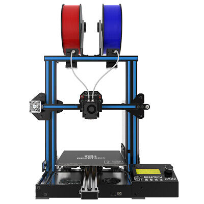 Geeetech Mix-Color Printing Dual Extruder A10M 3D Printer Christmas gift
