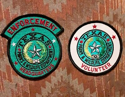 Texas/Patch/Police/Collectable  Texas Parks and Wildlife  set
