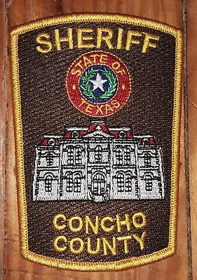 Texas/Patch/Sheriff/Collectible. Concho County Texas Sheriff's Department patch