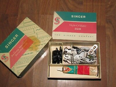 Vintage Singer Sewing machine attachments Part No. 161615 Style-O-Matic 328K