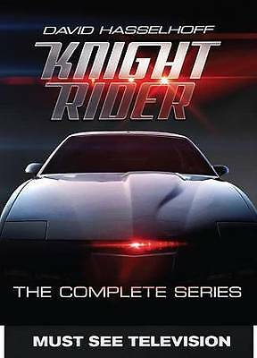 Knight Rider - The Complete Series (DVD, 2016, 16-Disc Set) - NEW!!