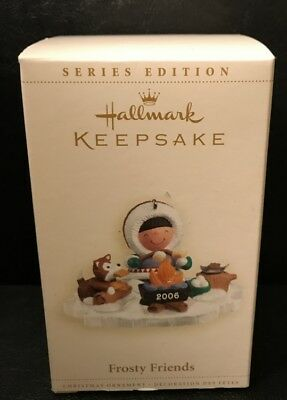 Hallmark Ornament  Frosty Friends Christmas 27th in series 2006
