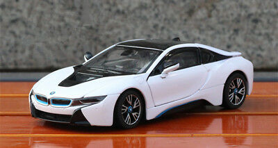 Rastar 1 24 Bmw I8 Sports Car Alloy Toy Vehicles Model Boys Gift