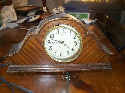 General Electric Westminster Chimes Mantle Clock For Restoration