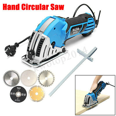 HILDA 500W Electric Mini Circular Saw Handheld Corded Power Tool Wood