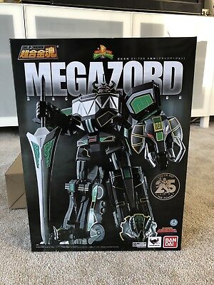 Soul of Chogokin GX-72B Black Megazord Power Rangers Dragonzord Colors