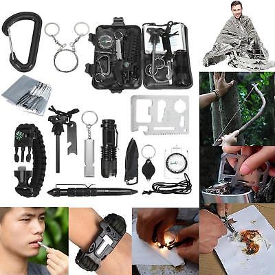 Emergency Survival Equipment Kit Outdoor Sports Tactical Hiking Camping Tool Set