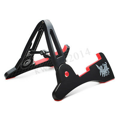 AROMA Foldable Guitar Floor Stand A Frame Electric Acoustic Bass Display  new