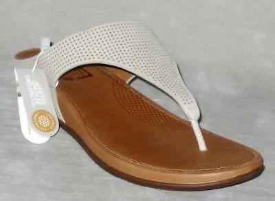 20ba92d2d624f9 FitFlop BANDA Perf Thong Sandals Shoes Nubuck Leather Women 9 Urban W  MP 130 NEW