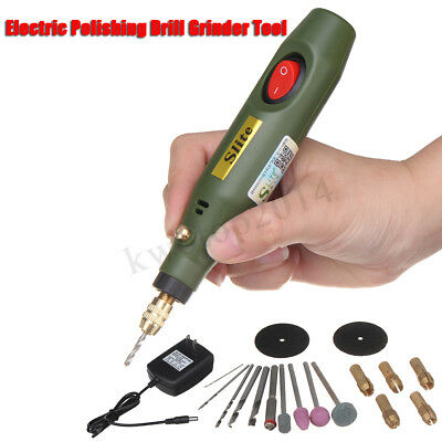 Adjustable Handy Mini Electric Drill Sets Grinder Engraver Rotary   new