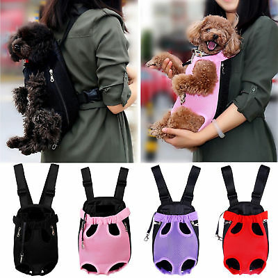 b8b3217bcd29 LEGS OUT FRONT Dog Carrier Hands-Free Adjustable Pet Cat Puppy ...