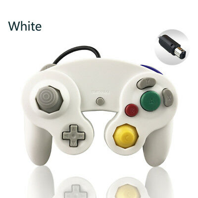 White Wired game controller for Nintendo GameCube NGC Video Game Console