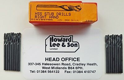 "16 DORMER 5/64"" or (.078"" or 1.984mm) Stub Drills  A120"