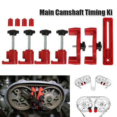 Universal Dual Cam Clamp Camshaft Timing Sprocket Gear Locking Tool Kit US