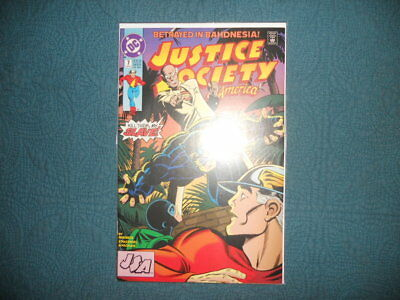 DC Comics; Justice Society of America, '...Or Give Me Death!', #7 Apr '91. VF/NM