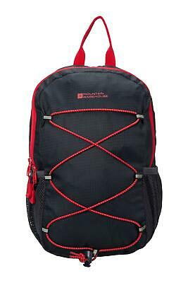 Mountain Warehouse Trek 8L Backpack with Padded Air Mesh Back and Bottle Pocket