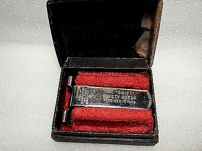 "Rare Vintage 1905 The ""SWIFT"" Safety Razor -------- L741"