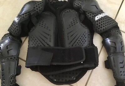 Oneal Underdog 2 Motocross Body Armour Shoulder + Elbow + Kidney Belt