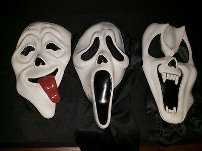 Lot of 3 Scream Ghostface Masks Easter Unlimited